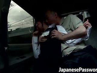 Handsome Japanese slut gets..