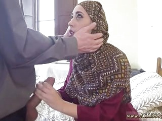 Arab couple homemade and..