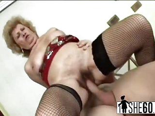 Old granny fucking with..