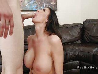 Huge boobs Milf deep throats..