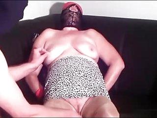 First BDSM  training granny..