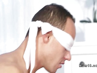 Blindfolded male bangs Milf..
