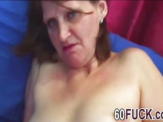 Dirty minded granny got..