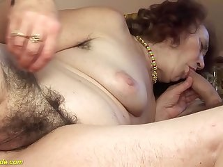chubby 69 years mom fucked..