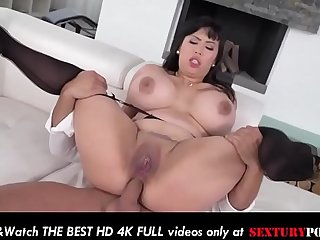 Step mother MILF takes anal..