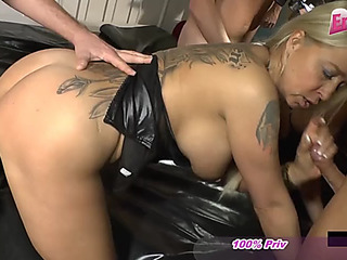 German creampie cum inside..
