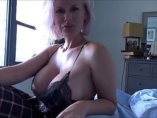 Big Breasted Mom Soothes Shy..