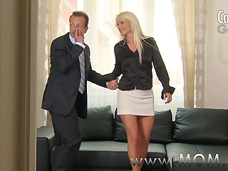 MOM Blonde MILF gets fucked..