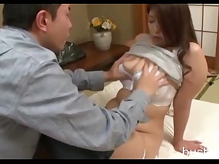 Chubby Japanese Mom - Visit..