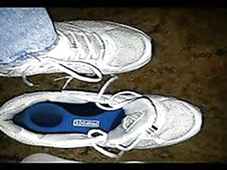 Mature feet shoe fetish..