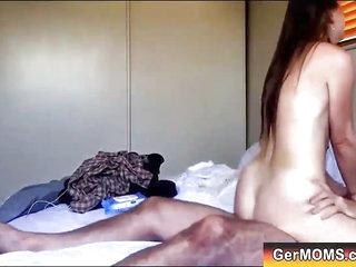 German Mature Mom Fucked..