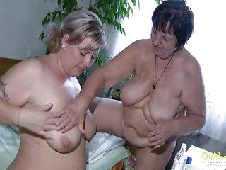 OldNannY BBW Mature Lesbians..