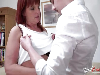 AgedLovE Redhead Mature And..