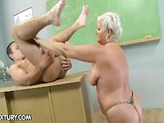 Old teacher, granny Cecily,..
