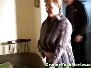 The doctor gives granny a..