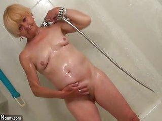 Old granny lesbian compilation