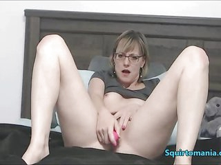 Mature Woman with Glasses..