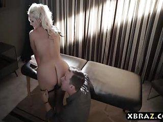 Busty MILF hooker anal..
