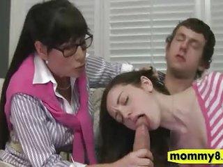 Big boobs mature stepmom..