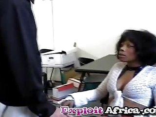 Milf black babe hairy pussy..